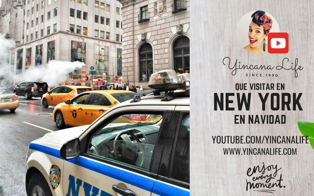Que visitar en Nueva York En Navidad 2019