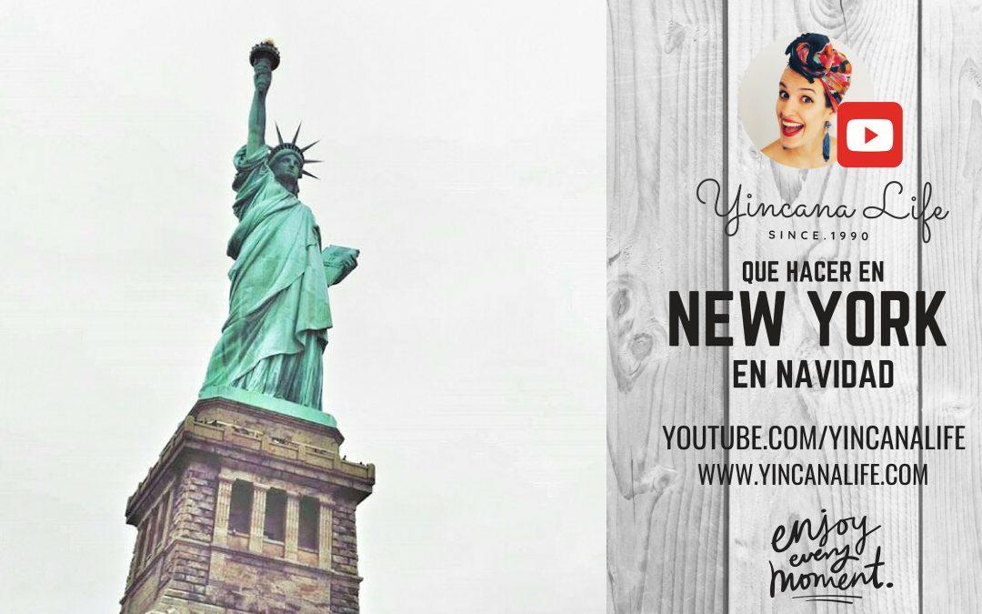viajar a nueva york en navidad 2019