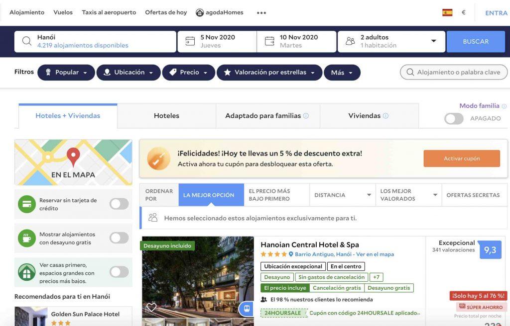 hoteles baratos en internet 2020